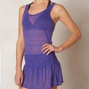 Prana NWT Zadie dress sz L ultra violet